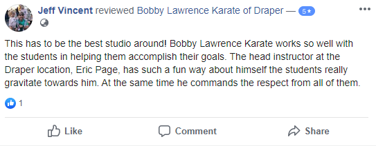 Adult2, Bobby Lawrence Karate of Draper
